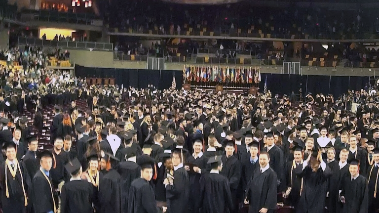After Commencement - Taken from graduation cap