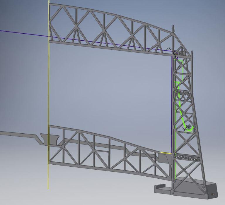 Lift Bridge - Inventor - 1